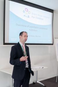 Dr Wiskin presenting